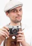 Man photographer Stock Image