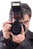 Man photographing Royalty Free Stock Images
