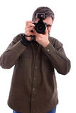 Man photographing Stock Image