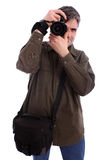 Man photographing Royalty Free Stock Photo