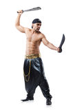 Man in pirate costume Royalty Free Stock Photography