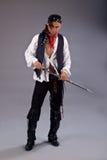 Man pirates of the caribbean sword Royalty Free Stock Image