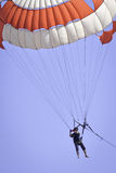 Man Play Parasailing Stock Photos