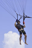 Man Play Parasailing Royalty Free Stock Photos