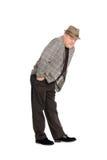 Man in a playful ironic pose. Stock Photos