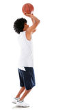 Man playing basketball Royalty Free Stock Photography