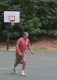 Man playing basketball 1 Royalty Free Stock Photo