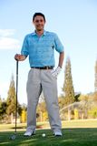 Man playing golf Royalty Free Stock Photography