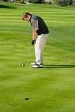 Man Playing Golf Royalty Free Stock Images