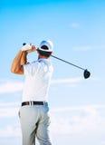 Man Playing Golf Royalty Free Stock Photos