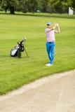 Man playing golf Royalty Free Stock Photo