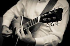 Man Playing Guitar Royalty Free Stock Image