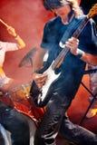 Man playing  guitar. Stock Photography