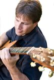 Man playing guitar Royalty Free Stock Photos