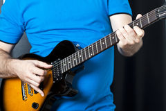 Man playing guitar Royalty Free Stock Photo