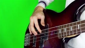 Man playing guitar. stock footage