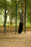 Man Playing at Park - vertical Stock Images