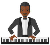 Man playing piano Royalty Free Stock Photography