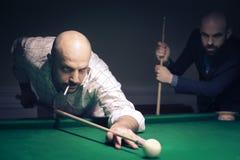 Man playing pool Royalty Free Stock Photo