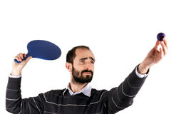 Man playing rackets Royalty Free Stock Photography