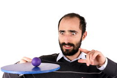 Man playing rackets Royalty Free Stock Photo