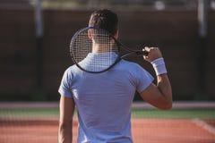 Man playing tennis Royalty Free Stock Image