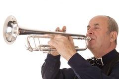 Man playing trumpet Royalty Free Stock Photo