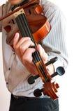 Man playing violin. Stock Photography