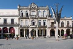 Square - Plaza Vieja, Havana, Cuba royalty free stock image
