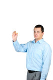 Man pointing Royalty Free Stock Photos