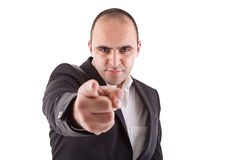 Man pointing Royalty Free Stock Photo