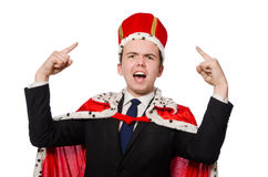 Man pointing his fingers Royalty Free Stock Photo