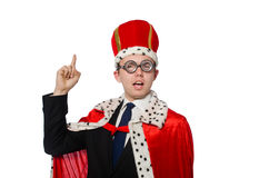 Man pointing his fingers Stock Photo