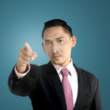 Man Pointing Something Royalty Free Stock Images