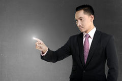 Man Pointing Something Royalty Free Stock Photos