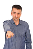 Man pointing to you Royalty Free Stock Photo
