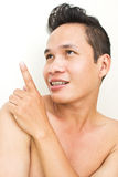 Man  Pointing Up Royalty Free Stock Photography