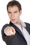 Man Pointing At You Royalty Free Stock Photos