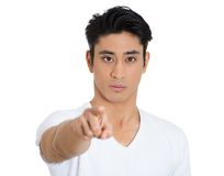 Man pointing at you Royalty Free Stock Photography