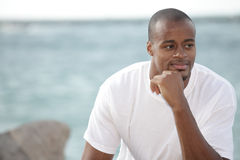 Man pondering stock photos