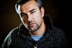 Man portrait Stock Images