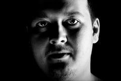 Man portrait. Closeup. Stock Photography