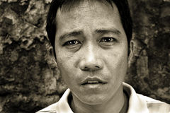 Man portrait emotion Stock Photos