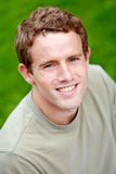 Man portrait smiling Royalty Free Stock Photography