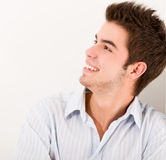 Man portrait smiling Royalty Free Stock Images