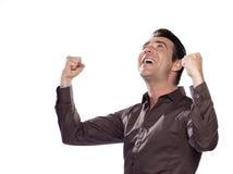 Man Portrait success Stock Image