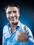 Man Portrait Thumb up Stock Photography