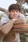 Man portret Royalty-vrije Stock Fotografie