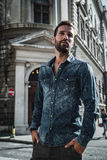Man posing in the city Royalty Free Stock Images