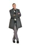 Man posing in coat Royalty Free Stock Photography